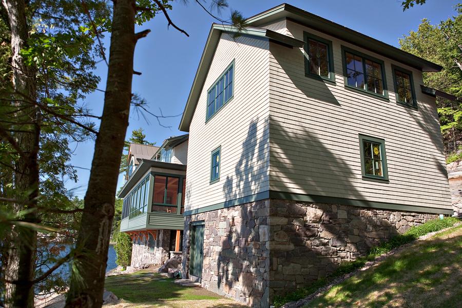 Lake Champlain House In Vermont Vorse Design Build
